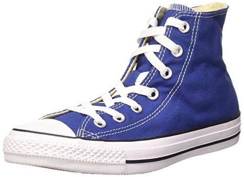 Converse Unisex-Erwachsene All Star Hi Canvas Seasonal Lauflernschuhe Sneakers, Blau (Roadtrip Blue/White/Black), 36.5 EU