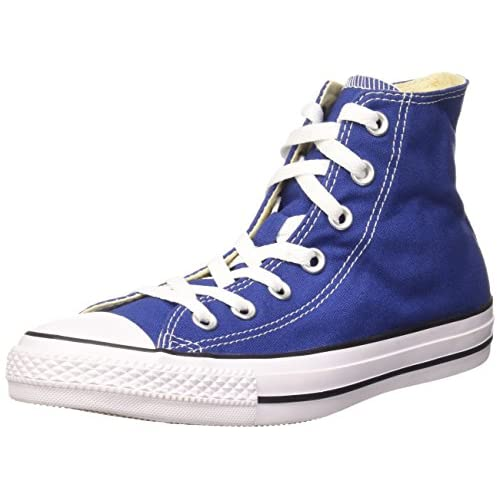 Converse Sneaker All Star Hi Canvas, Sneakers Unisex Adulto, Blu (Roadtrip Blue/White/BlackRoadtrip Blue/White/Black), 41 EU