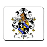 Bittel Family Crest Coat of Arms Mouse Pad