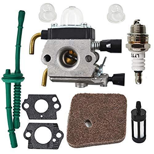 Carburador apto para recortadora STIHL FS38 FS45 FS46 FS55 FS55R KM55 C1Q-S186A para carburador