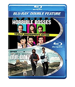 Horrible Bosses / Due Date  DBFE  BD  [Blu-ray]