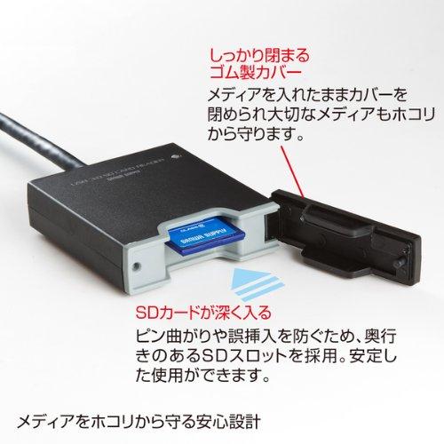 サンワサプライUSB3.0SDカードリーダーADR-3SDUBK