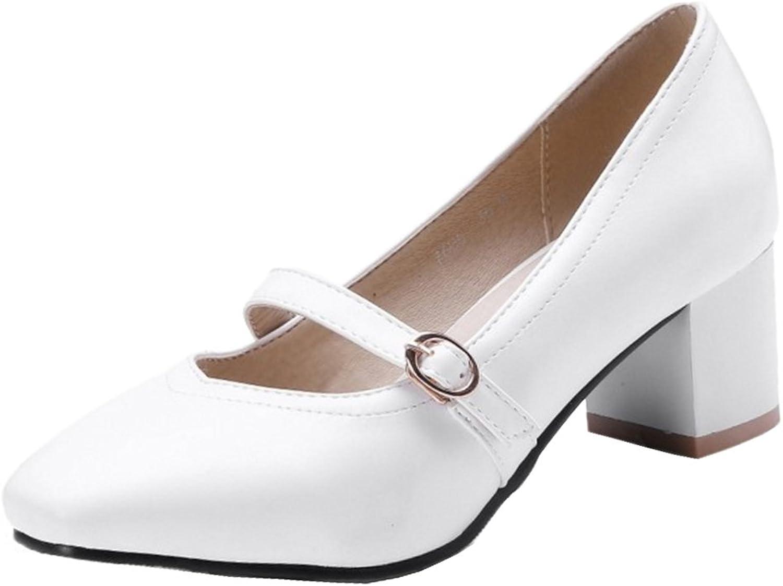 FizaiZifai Women Mary Jane Pumps shoes