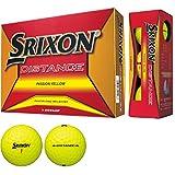 DUNLOP(ダンロップ) ゴルフボール SRIXON DISTANCE 2018年モデル 1ダース(12個入り) パッションイエロー