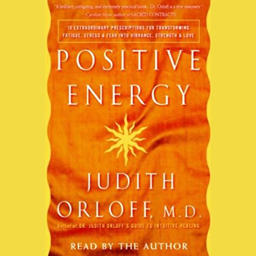 Positive Energy audiobook cover art