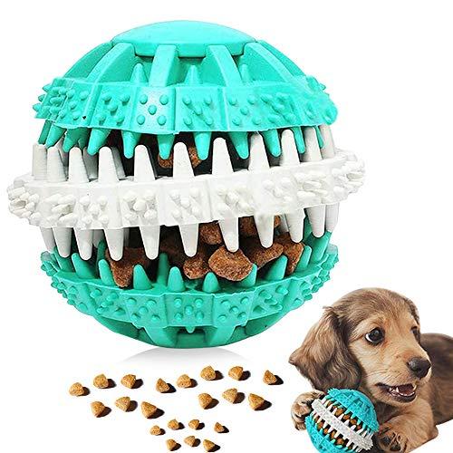 Giocattolo Palla per Cane, Palla da Masticare per Cani, Palla per Pulito dei Denti di Cane, Gioco Palla Rimbalzante Cane, Giocattolo Resistente Palla per Cani di Taglia Medio-Piccola