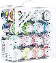 Montana Colors Pack Spray Water Based 16 Colors - Spray a Base de Agua, 100 ml, Set de 16 Piezas