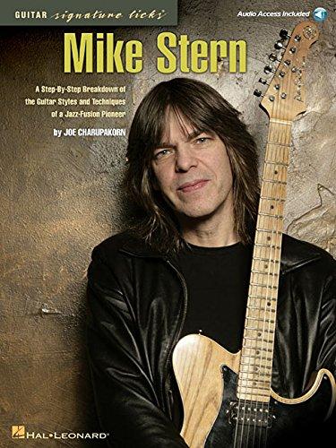 Mike Stern: Guitar Signature Licks: Lehrmaterial, CD für Gitarre