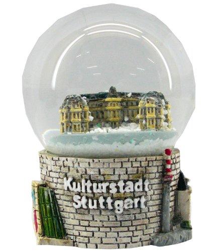 Souvenir Schneekugel Kulturstadt Stuttgart - 30005