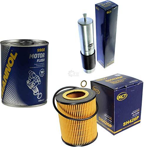 Original SCT Inspektionspaket Filter Set + Motor Flush Motorspülung 11585334