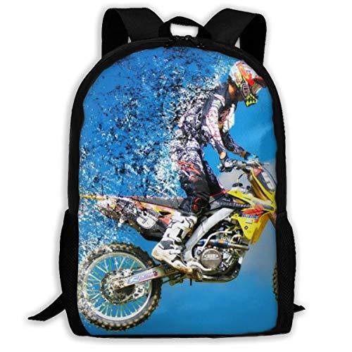 Mochila Escolar, Motocross School Backpack Knapsack Cute Daypack Children Sports Backpacks For Women Men
