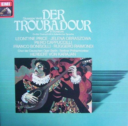 Verdi: Der Troubadour/Il Trovatore (Großer Querschnitt in italinischer Sprache) [Vinyl LP] [Schallplatte]