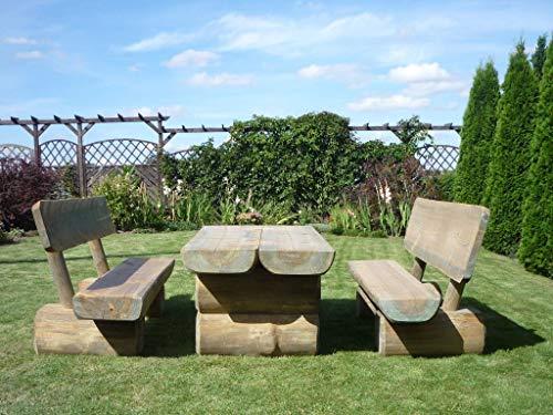 Bella Garden, Gartenmöbel Fred/rustikale Massive Ausführung