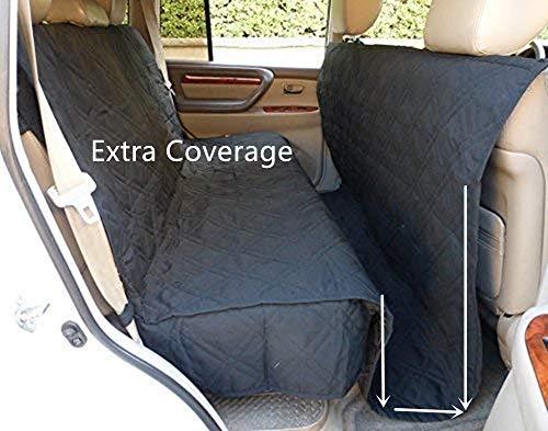 Pettom Coprisedile per Cani Viaggio in Auto Anti-Scivolo Copertura di Sedile Impermeabile per Viaggio, Amaca Cani Lavabile 238×142cm