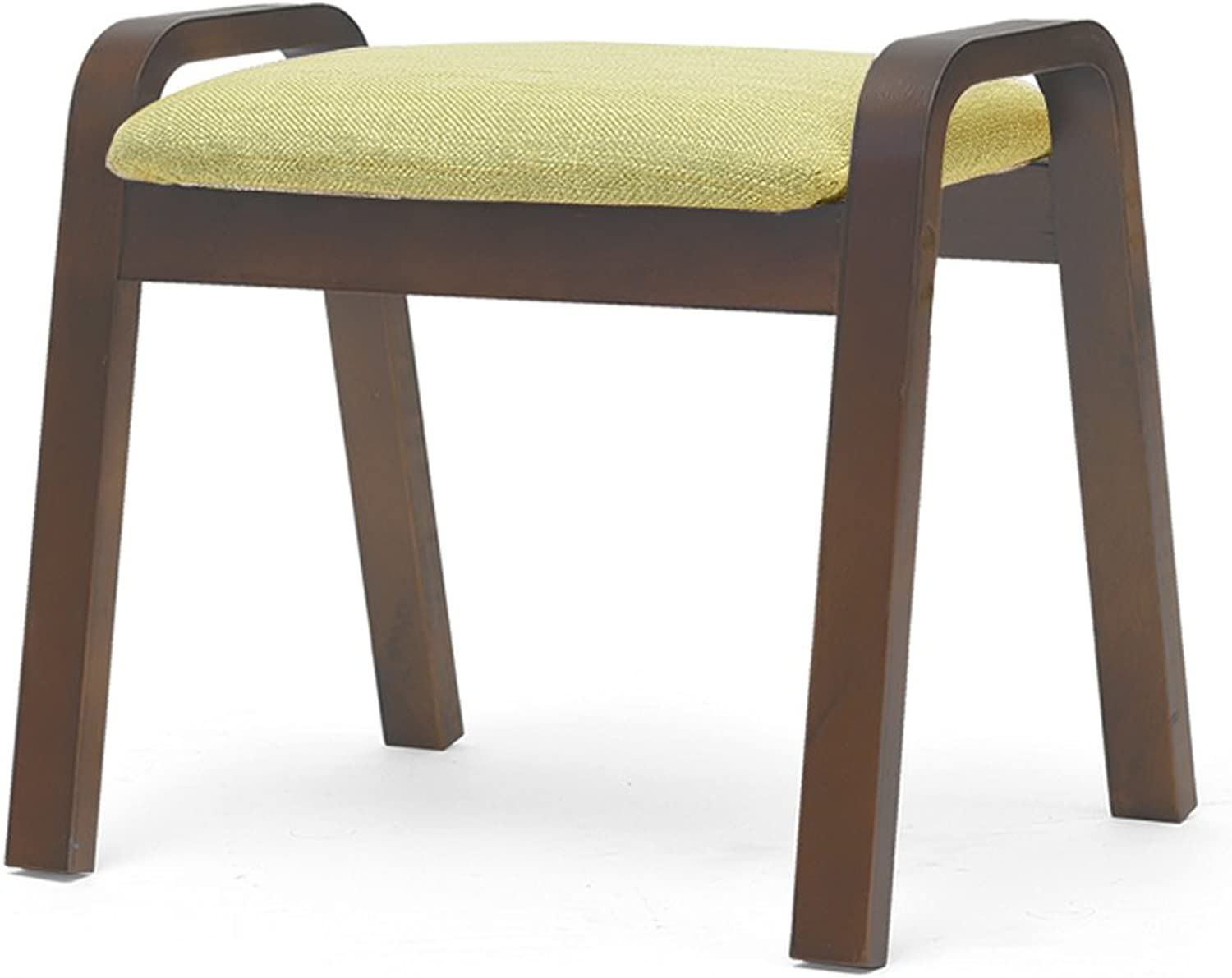 Home Stools, shoes Benches, Stylish Living Room Coffee Tables, Low Stools, Sofa Footstools, Solid Wood Stools, Adult Benches, Removable And Washable In Multiple colors (L  44.5cm, W  33cm, H  36cm ) ( color   D )