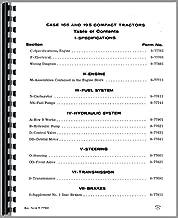Service Manual Case 195 155 Lawn & Garden Tractor