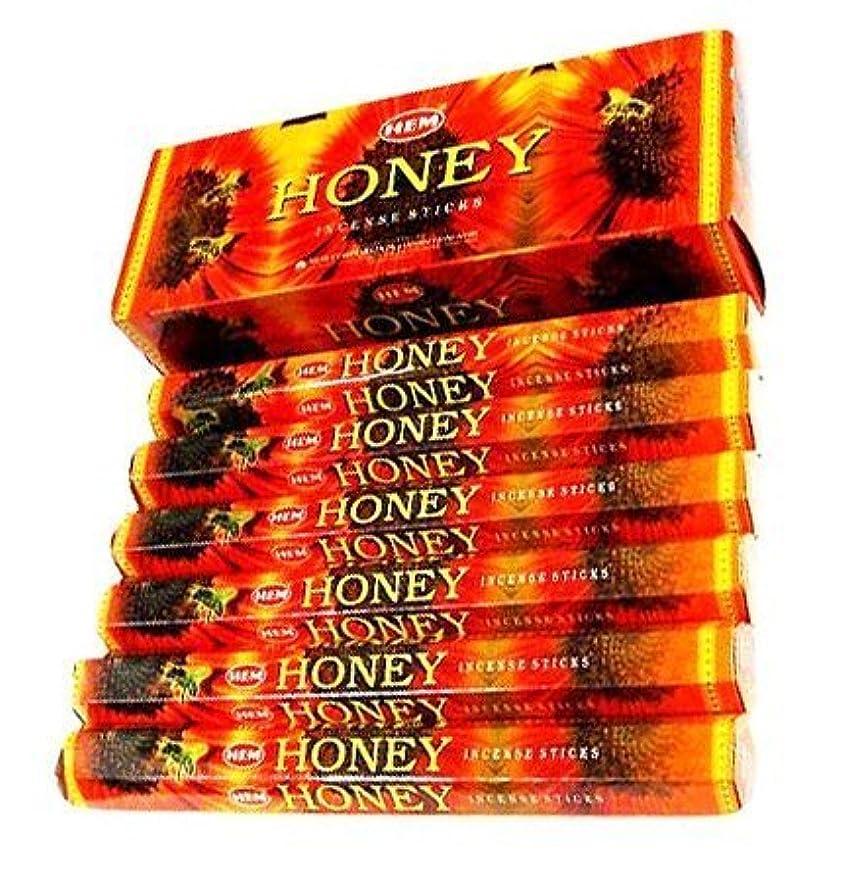 ファンドのホスト地域のHem Honey Incense Sticks 120ct [並行輸入品]