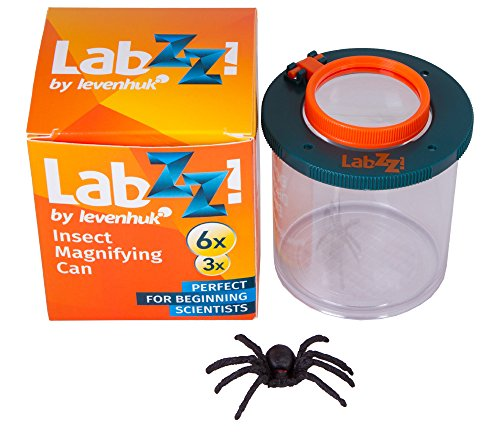 Levenhuk Frasco de Observación de Insectos LabZZ C1 para Niños Científicos Principiantes