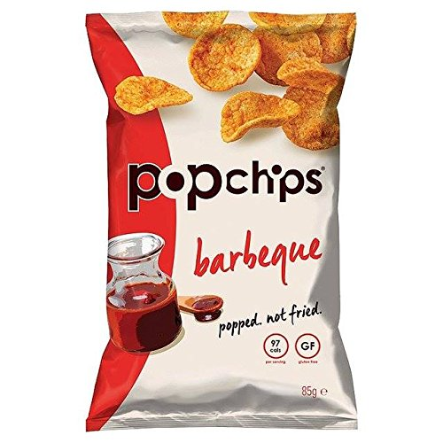 Popchips Barbeque Popped Potato Crisps 85g