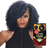 Royal Zury Synthetic Hair Crochet Braids V8.9.10 Water Wave 1Pack Enough (1B)