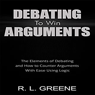 Debating to Win Arguments audiobook cover art