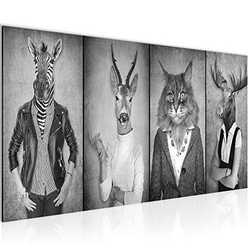 Bilder Arbeitstiere Wandbild 100 x 40 cm Vlies - Leinwand Bild XXL Format Wandbilder Wohnung Deko Kunstdrucke - MADE IN GERMANY - Fertig zum Aufhängen 018312c