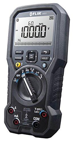 Flir DM93 Multímetro Digital Industrial con Loz y Filtro Vfd