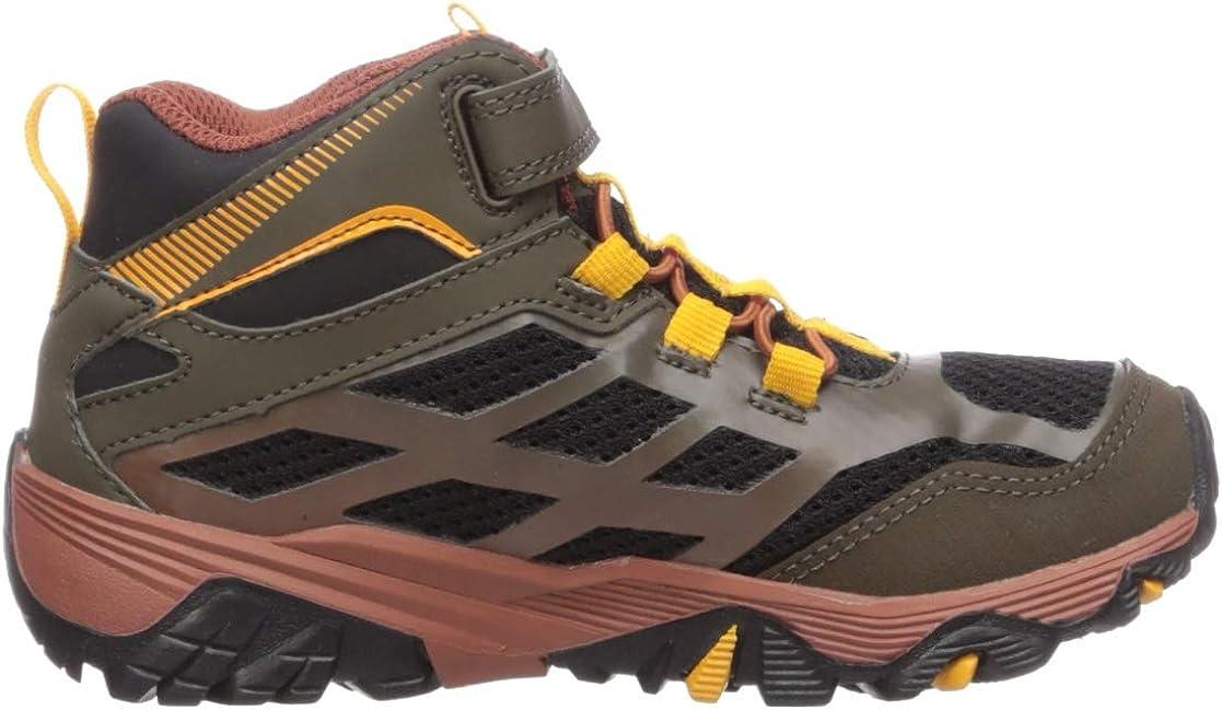 Merrell Unisex-Child Moab FST Mid a//C WTRPF Hiking Boot
