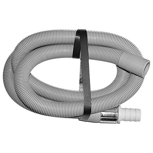 Verlängerung für Ablaufschlauch | Spiral-Verlängerungs-Ablaufschlauch | Spül- und Waschmaschinenschlauch | Geräteanschluss | Spiral-Schlauch