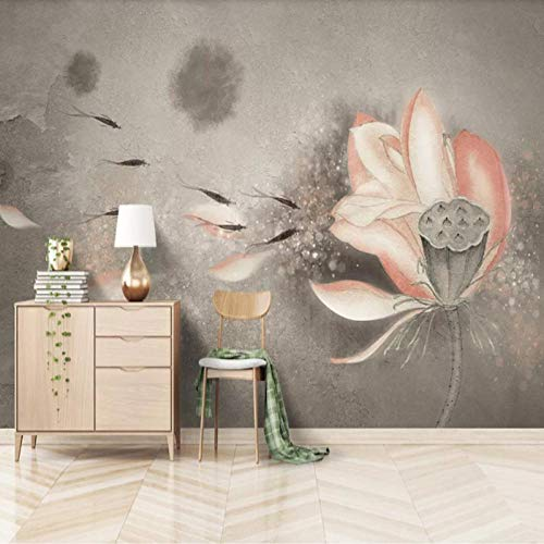 3D vliesbehang foto vlies premium fotobehang woonkamer slaapkamer achtergrond behang wandschilderij van handgeschilderde wijnschilderij 3D 250*175cm Lfvv-k704.