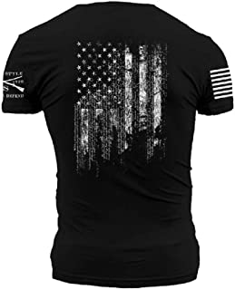 Grunt Style 1776 Flag Men`s T-Shirt