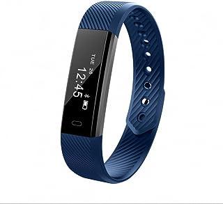 Pulsera Deportiva Monitor de Actividad,Pulsómetro Pulsera Actividad con Monitor de Actividad,Monitor de sueño,Notificación de WhatsApp ,Contador de Calorias,Ritmo Cardiaco Soporte Android Samsung iOS