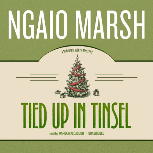 Tied Up in Tinsel audiobook cover art