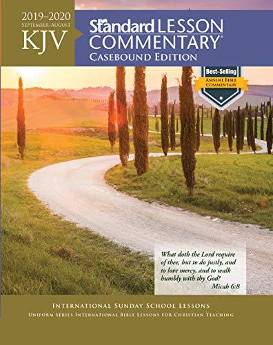 KJV Standard Lesson Commentary® Casebound Edition 2019-2020
