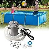 Cm&cl Poolfilterpumpe, Elektrische Schwimmbadpumpe Umwälzpumpe Filtervorrichtung Für Bodenpools Pumpenfilter-Kit Paddelpoolpumpe