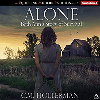 Alone: Beth Ann's Story of Survival audiobook cover art