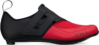 Fizik Men's Transiro Powerstrap R4 Triathlon Cycling Shoes - Black/Red