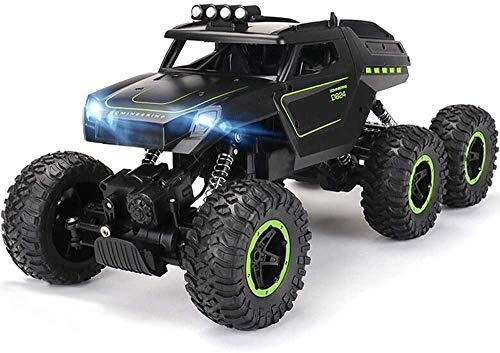 Zhangl 6WD RC Negro Off-Road Cars 15