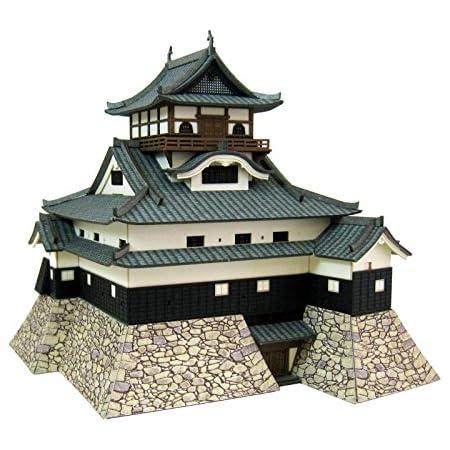 さんけい みにちゅあーとキット 1/300 国宝 犬山城 ペーパークラフト MK04-05