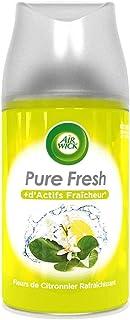 AIR WICK Lot de 4 Désodorisants Recharge Freshmatic Fleurs de Citronnier Rafraichissant - 250 ml