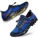 FANDEE Men's Trail Running Shoes Workout Fitness Low Zero Drop Male Hiking Sneakers Trainer Cross...