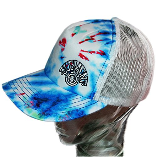 Casquette trucker snapback ajustable ELEMENT Leary Blue