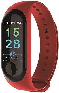 Reloj de Seguimiento de Actividad de Contador de calorías Smart Band de 0,96 Pulgadas Contador de calorías (Color: Negro)