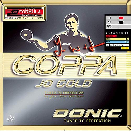 Buy Cheap Donic Coppa JO Gold Table Tennis & Ping Pong Rubber