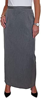 Maxi Skirt Fully Lined Smart Tailored Office Day Evening 6-18