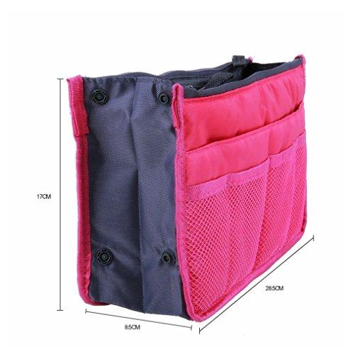51oxTGPYYZL - TheWin - Organizador de Viaje para cosméticos, Color Hot Pink, tamaño 1