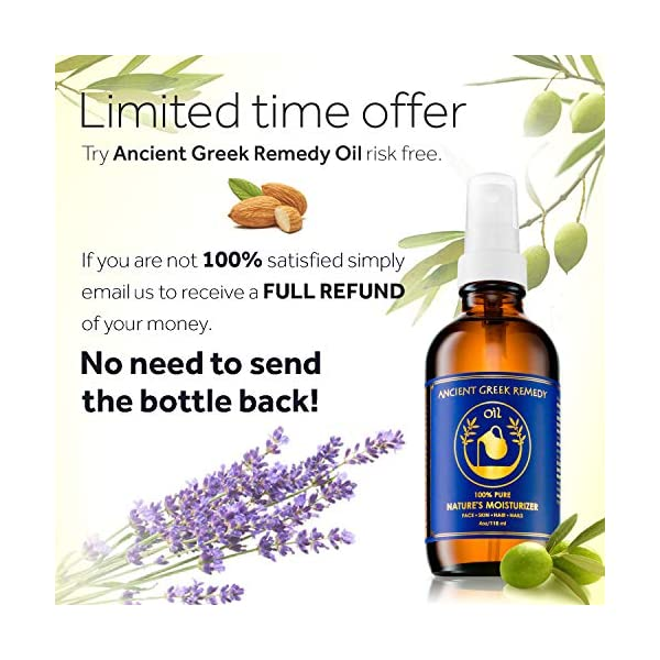 Beauty Shopping Organic Blend of Olive, Lavender, Almond and Grapeseed oils with
