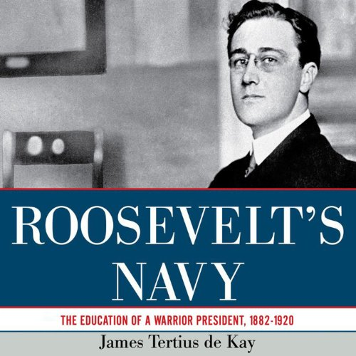 Roosevelt's Navy audiobook cover art