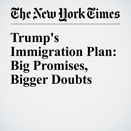 Trump's Immigration Plan: Big Promises, Bigger Doubts audiobook cover art