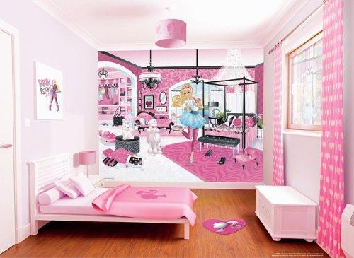 Walltastic 40540 Barbie Wandbild Designer Fototapete